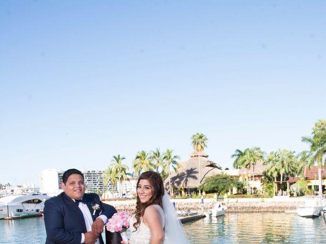 La boda de David y Aglaé en Puerto Vallarta, Jalisco 24