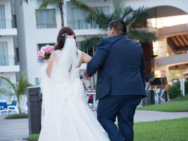 La boda de David y Aglaé en Puerto Vallarta, Jalisco 26