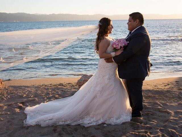 La boda de David y Aglaé en Puerto Vallarta, Jalisco 31