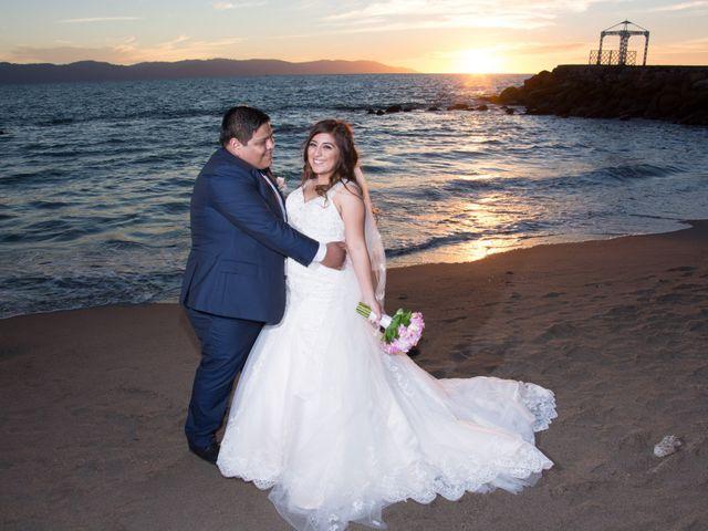La boda de David y Aglaé en Puerto Vallarta, Jalisco 32
