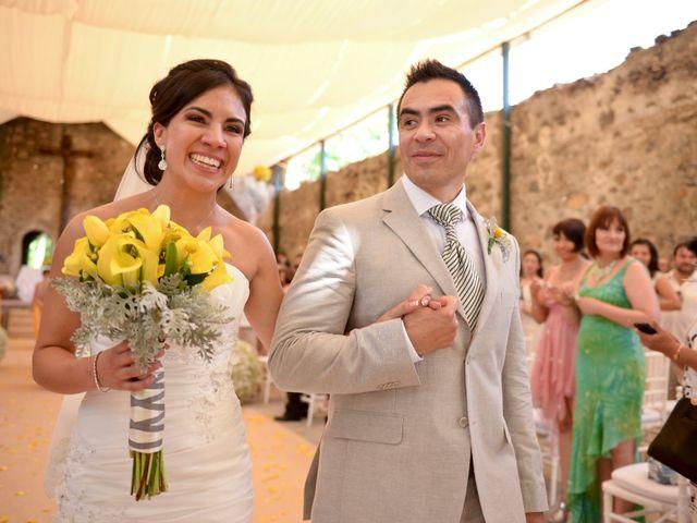 La boda de Berenice y Alfonso
