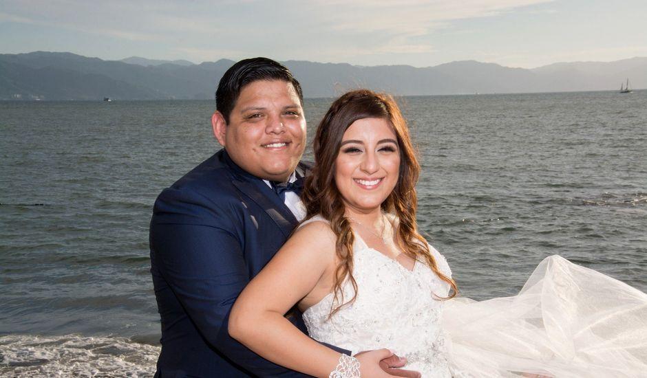 La boda de David y Aglaé en Puerto Vallarta, Jalisco