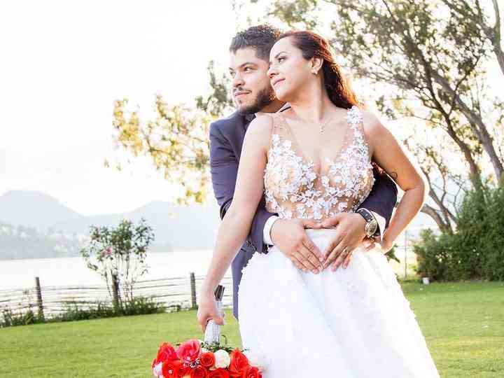 La boda de Aby y Adán