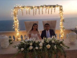 La boda de Yara y Isaac
