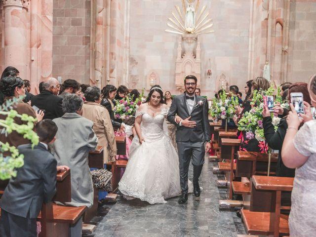 La boda de Franc y Fabiola en Zacatecas, Zacatecas 17