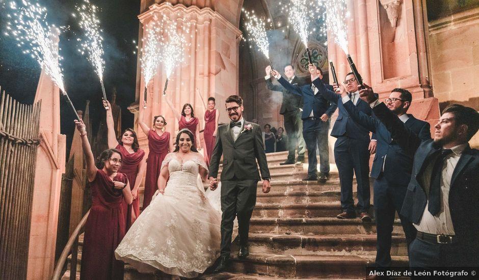 La boda de Franc y Fabiola en Zacatecas, Zacatecas