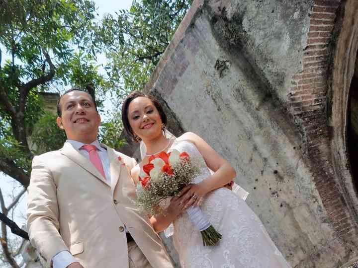 La boda de Violeta y Alejandro