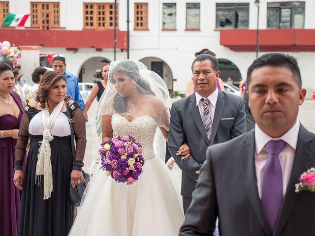 La boda de Gabriel y Viridiana en Atlacomulco, Estado México 13