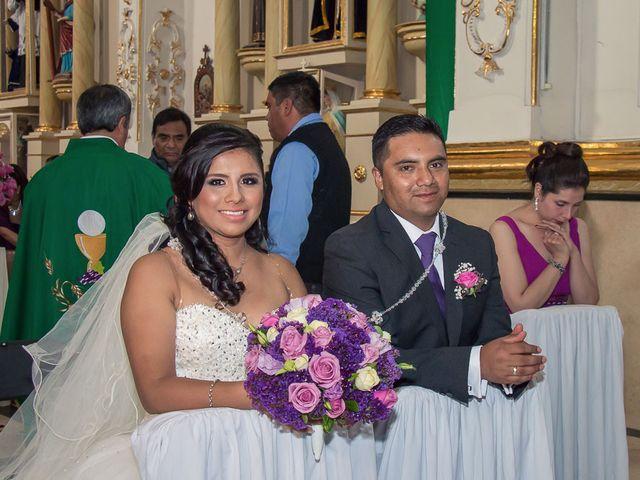 La boda de Gabriel y Viridiana en Atlacomulco, Estado México 15