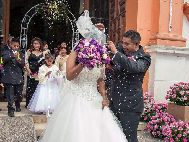 La boda de Gabriel y Viridiana en Atlacomulco, Estado México 20