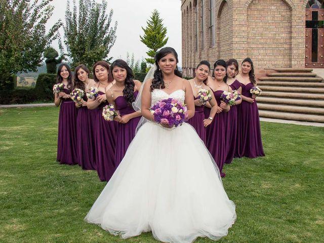 La boda de Gabriel y Viridiana en Atlacomulco, Estado México 24