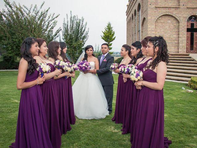 La boda de Gabriel y Viridiana en Atlacomulco, Estado México 25
