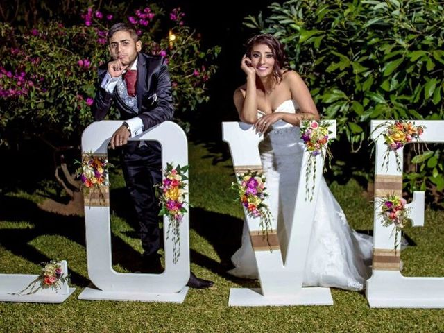 La boda de Edna y Roy
