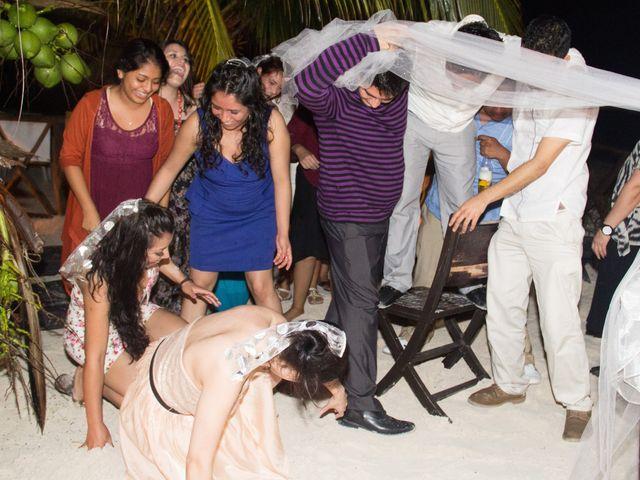 La boda de Natalie y Saul en Puerto Morelos, Quintana Roo 6