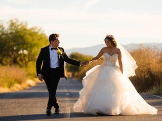 La boda de Edna y Uriel