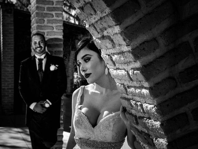 La boda de Esmeralda y David