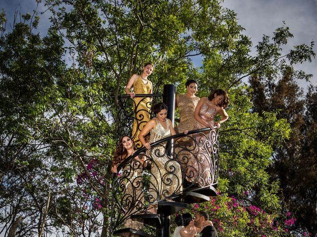 La boda de David y Esmeralda en Zapopan, Jalisco 15