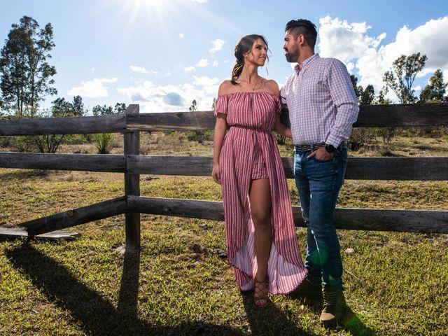 La boda de Juan Pablo y Alondra en Teúl de González Ortega, Zacatecas 5