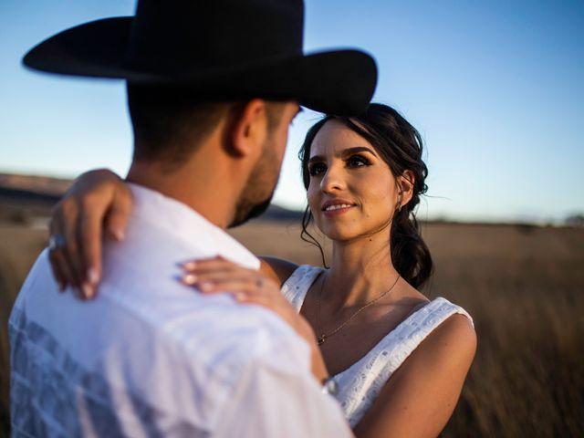 La boda de Juan Pablo y Alondra en Teúl de González Ortega, Zacatecas 13