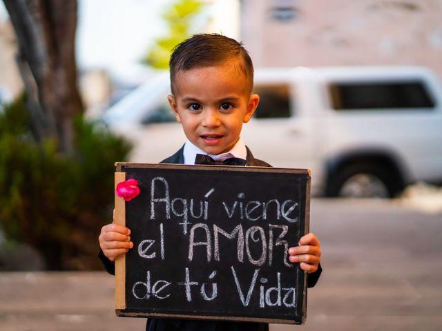 La boda de Juan Pablo y Alondra en Teúl de González Ortega, Zacatecas 71