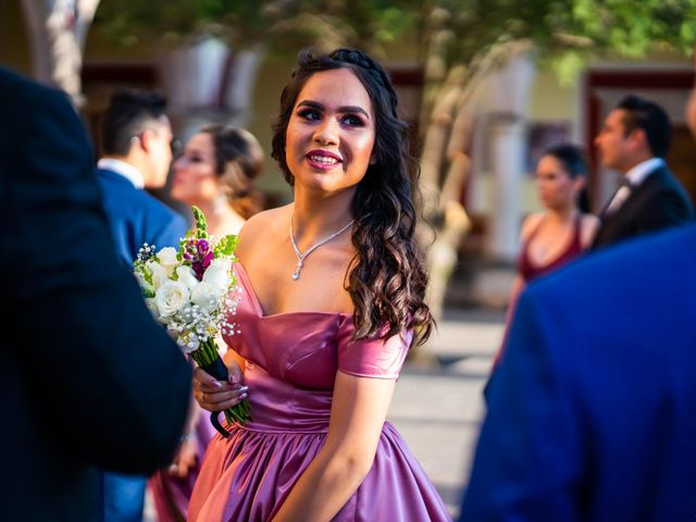 La boda de Juan Pablo y Alondra en Teúl de González Ortega, Zacatecas 74