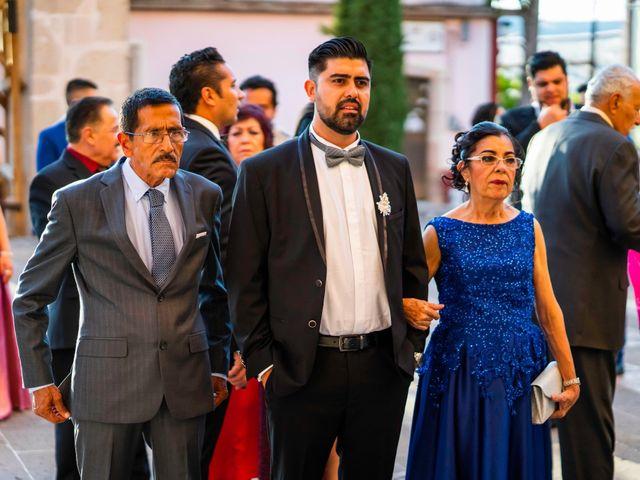 La boda de Juan Pablo y Alondra en Teúl de González Ortega, Zacatecas 75