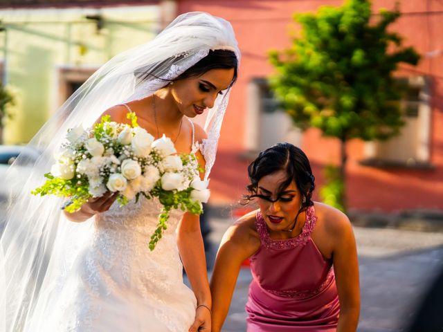 La boda de Juan Pablo y Alondra en Teúl de González Ortega, Zacatecas 78