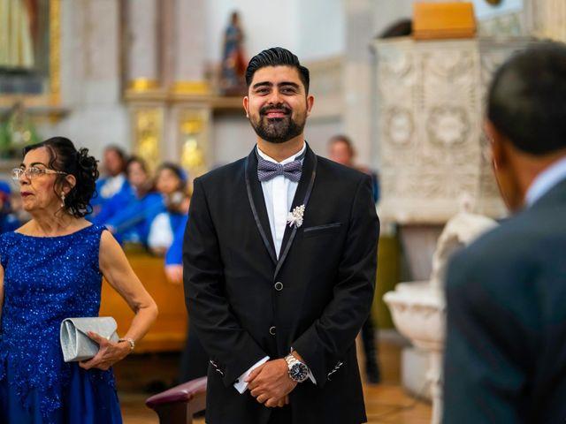 La boda de Juan Pablo y Alondra en Teúl de González Ortega, Zacatecas 79