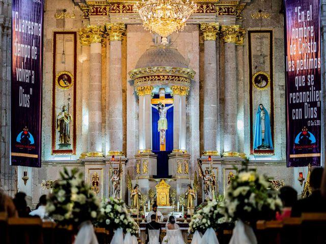 La boda de Juan Pablo y Alondra en Teúl de González Ortega, Zacatecas 93