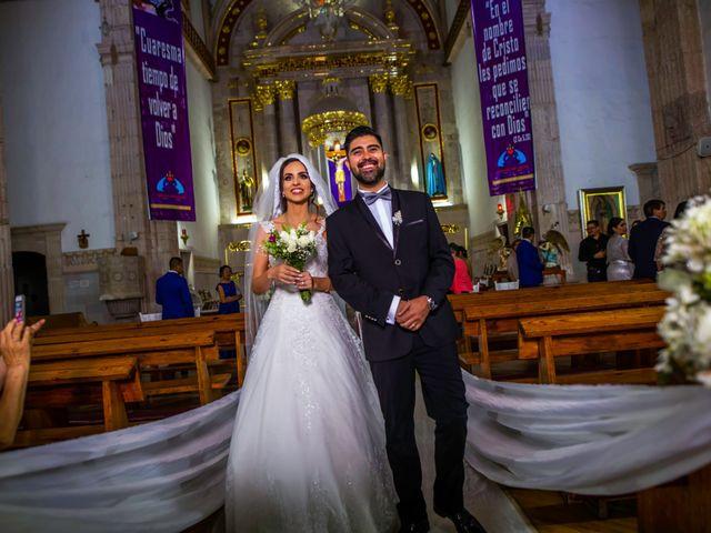 La boda de Juan Pablo y Alondra en Teúl de González Ortega, Zacatecas 99
