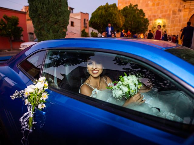 La boda de Juan Pablo y Alondra en Teúl de González Ortega, Zacatecas 110