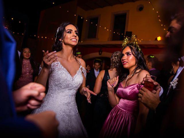 La boda de Juan Pablo y Alondra en Teúl de González Ortega, Zacatecas 158