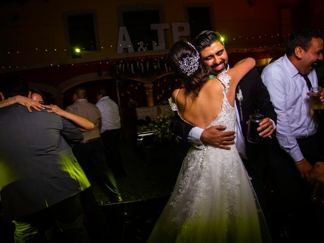 La boda de Juan Pablo y Alondra en Teúl de González Ortega, Zacatecas 180
