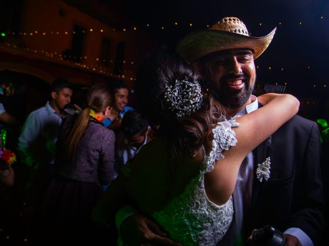 La boda de Juan Pablo y Alondra en Teúl de González Ortega, Zacatecas 181