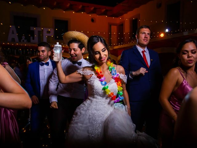 La boda de Juan Pablo y Alondra en Teúl de González Ortega, Zacatecas 184