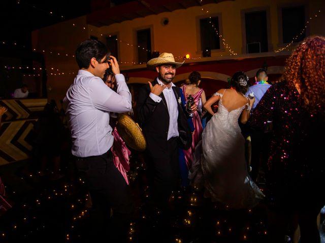 La boda de Juan Pablo y Alondra en Teúl de González Ortega, Zacatecas 186