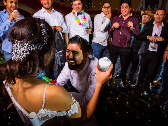La boda de Juan Pablo y Alondra en Teúl de González Ortega, Zacatecas 189