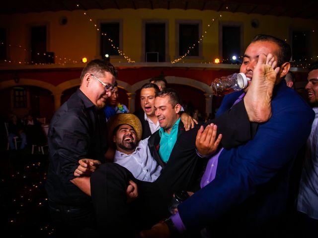 La boda de Juan Pablo y Alondra en Teúl de González Ortega, Zacatecas 196