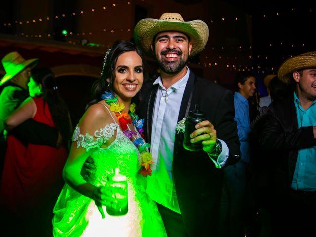 La boda de Juan Pablo y Alondra en Teúl de González Ortega, Zacatecas 197