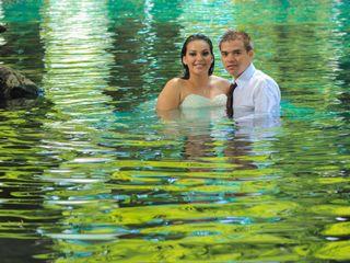 La boda de Kimberly y Luis