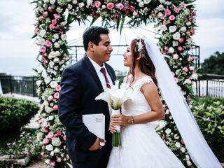 La boda de Xochilt y Benjamín