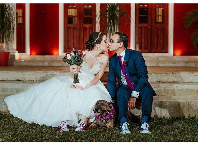 La boda de Israel y Mariana en Conkal, Yucatán 2