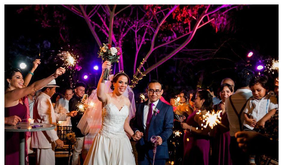 La boda de Israel y Mariana en Conkal, Yucatán