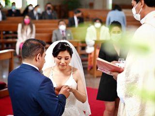 La boda de Evelyn y Diego