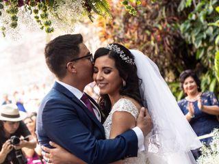 La boda de Monserrat y Andrés