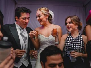 La boda de Alejandra y Óscar