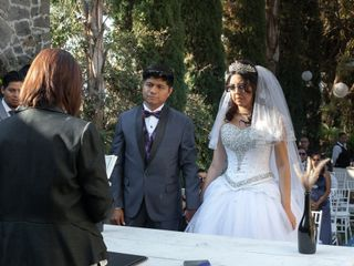 La boda de Daniel  y Génesis Karen 2