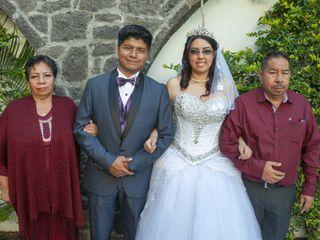 La boda de Daniel  y Génesis Karen 3