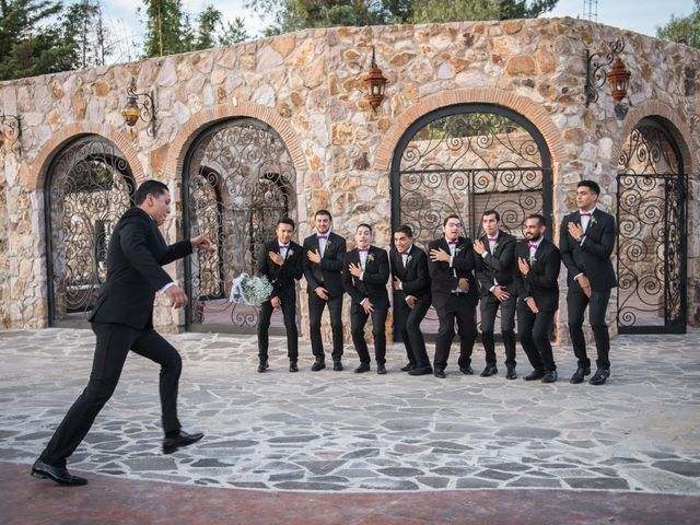 La boda de Eduardo y Elizabeth en León, Guanajuato 22