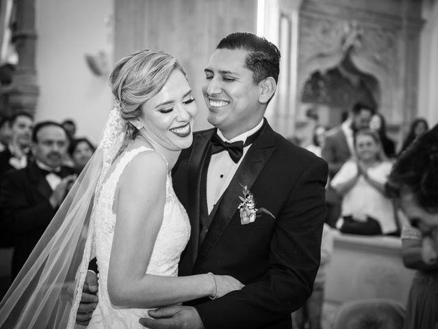 La boda de Eduardo y Elizabeth en León, Guanajuato 23